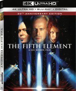 The Fifth Element 4K Cover