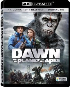 Dawn of the Planet of the Apes 4K Blu-ray