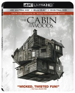 The Cabin in the Woods 4K Ultra HD Blu-ray Cover