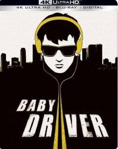 Baby Driver 4K Best Buy Steelbook