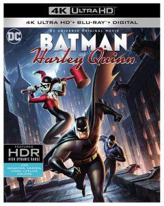 Batman and Harley 4K Blu-ray Cover