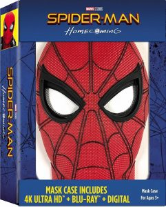Spider Man Homecoming 4K Mask