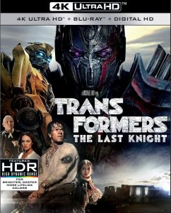 Transformers The Last Night 4K Ultra HD Cover