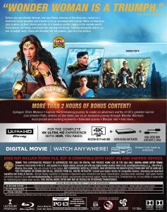 Wonder Woman Rear Slipcover