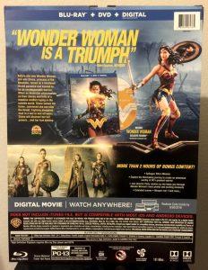Amazon Exclusive Wonder Woman Blu-ray