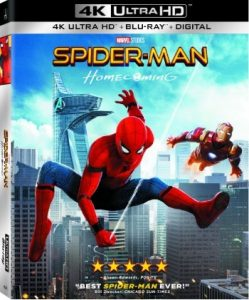 Spider-Man Homecoming 4K Cover