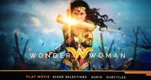 Wonder Woman 4K Menu
