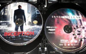 Christopher Nolan 4K Set - Inception & Interstellar