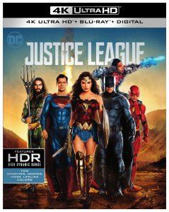 Justice League 4K Cover Art