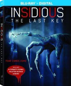 Insidious The Last Key Blu-ray