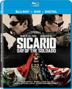 Sicario Day of the Soldado Blu-ray