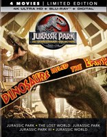 Jurassic Park 25th Anniversary Collection Limited Edition 4K