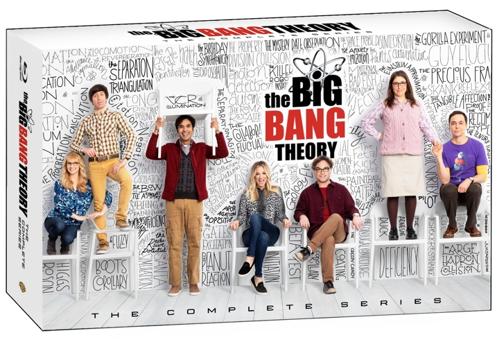 The Big Bang The Complete Series Blu-ray Box Cover