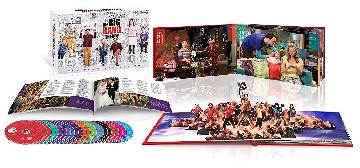 The Big Bang The Complete Series Blu-ray Set