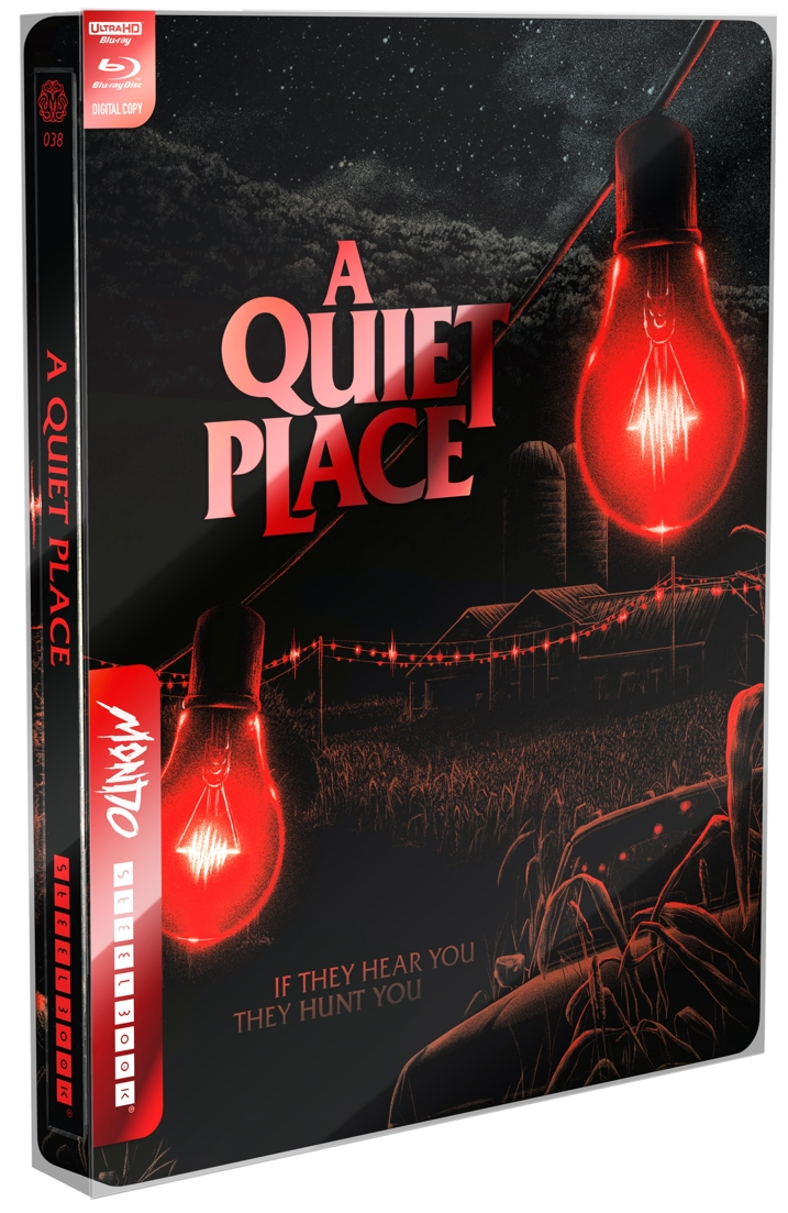 A QUIET PLACE- Mondo X Steelbook 4K Ultra HD Combo