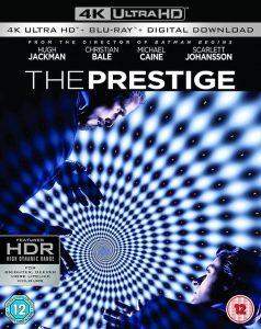 The Prestige 4K UHD Blu-ray