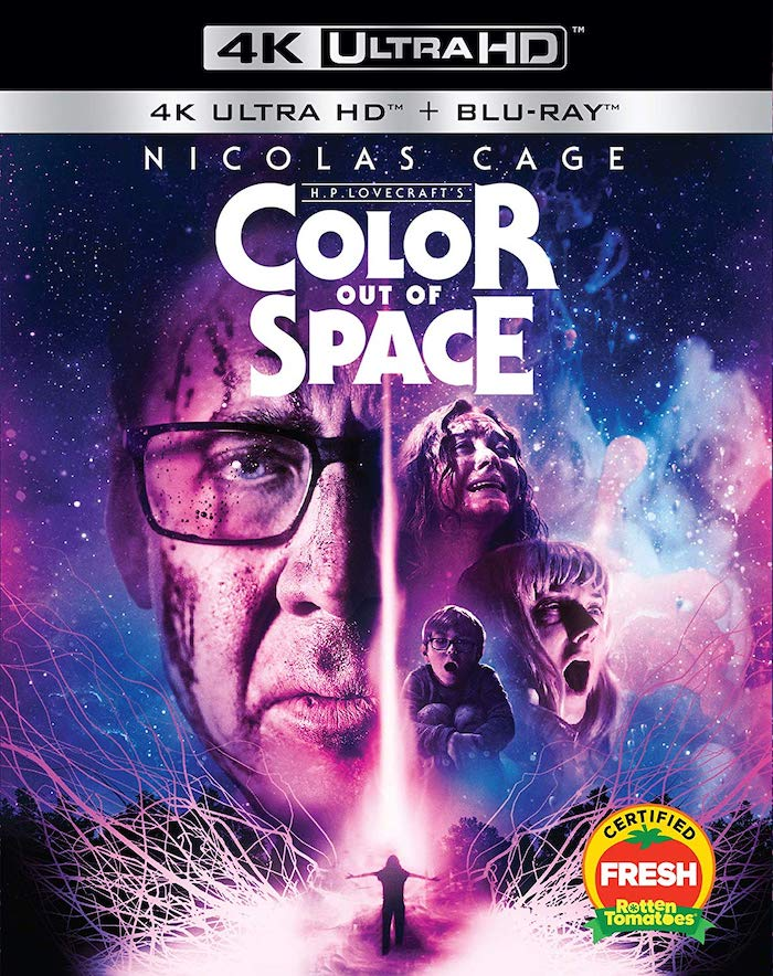 Color Out of Space 4K UHD Blu-ray