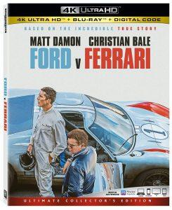 Ford v Ferrari 4K Review