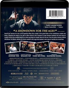 Ip Man The FInale 4K UHD Blu-ray