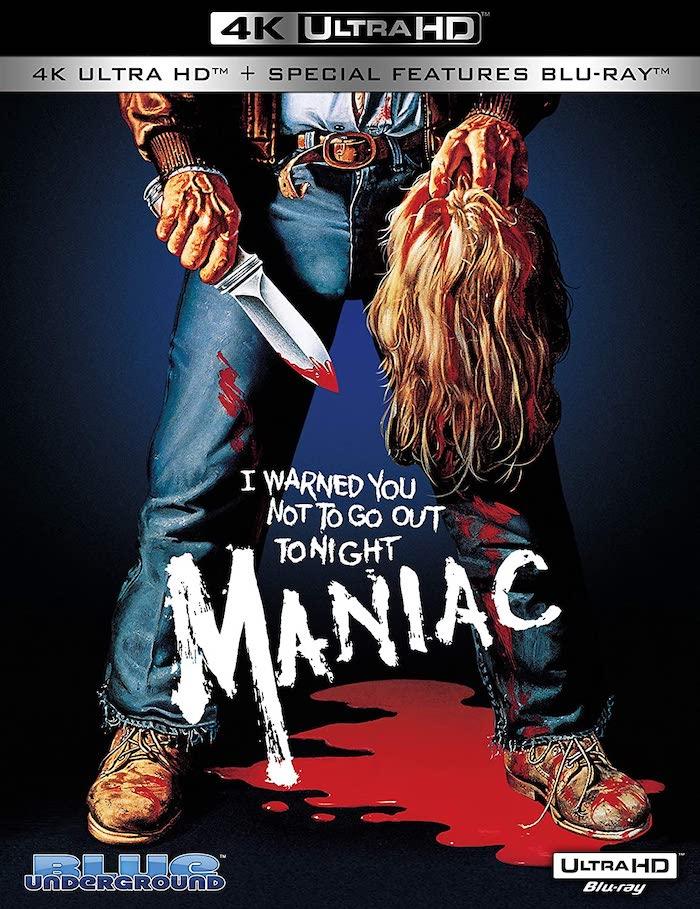 Maniac 4K UHD Blu-ray