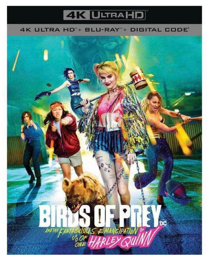 Birds Of Prey And The Fabulous Emancipation Of One Harley Quinn Ignites On 4k Blu Ray May 12th At Why So Blu