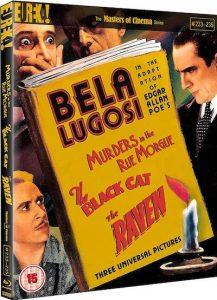 Murders Rue Morgue Black Cat Raven Blu-ray