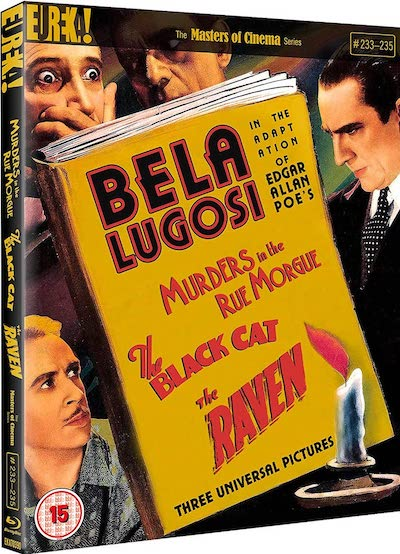 Murders Rue Morgue Black Cat Raven Blu-ray