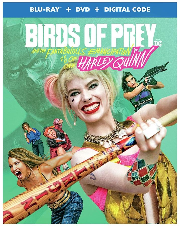 Birds of Prey Blu-ray Cover
