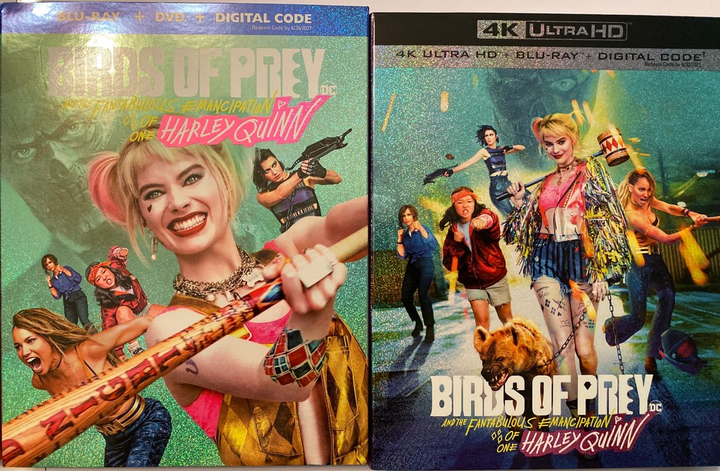 Birds Of Prey Covers At Why So Blu