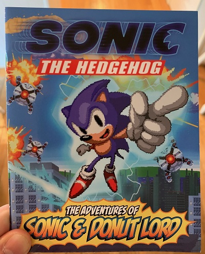 Sonic Comic At Why So Blu