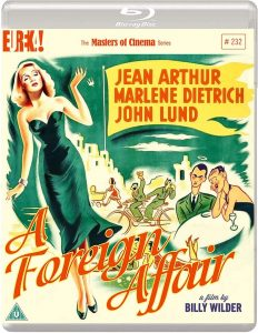 Foreign Affair Blu-ray