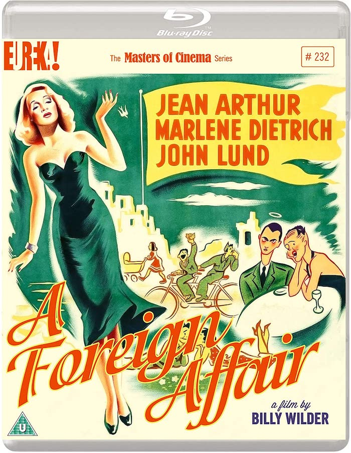 Foreign Affair Blu-ray