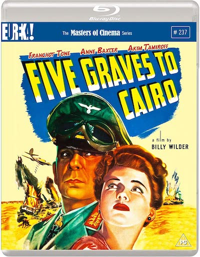 Five Graves Cairo Blu-ray