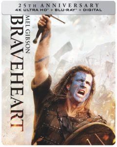 Braveheart Steelbook 4K Review