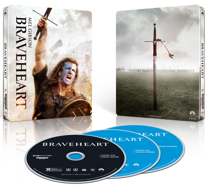 Braveheart 4K Steelbook