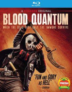 Blood Quantum Blu-ray Shudder