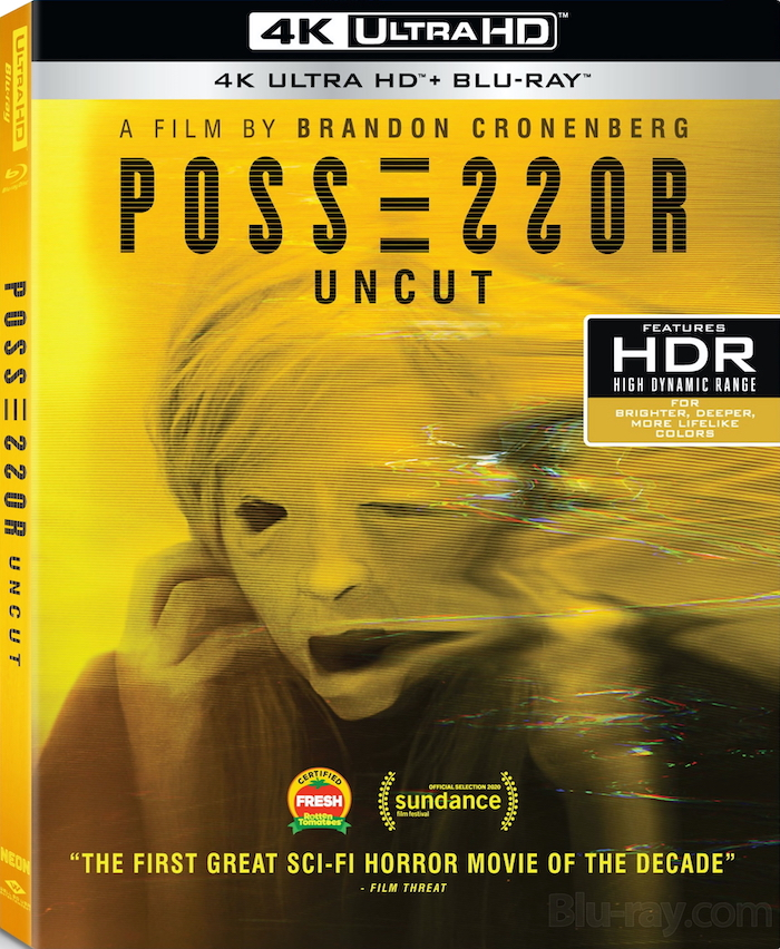 Possessor Uncut 4K UHD Blu-ray