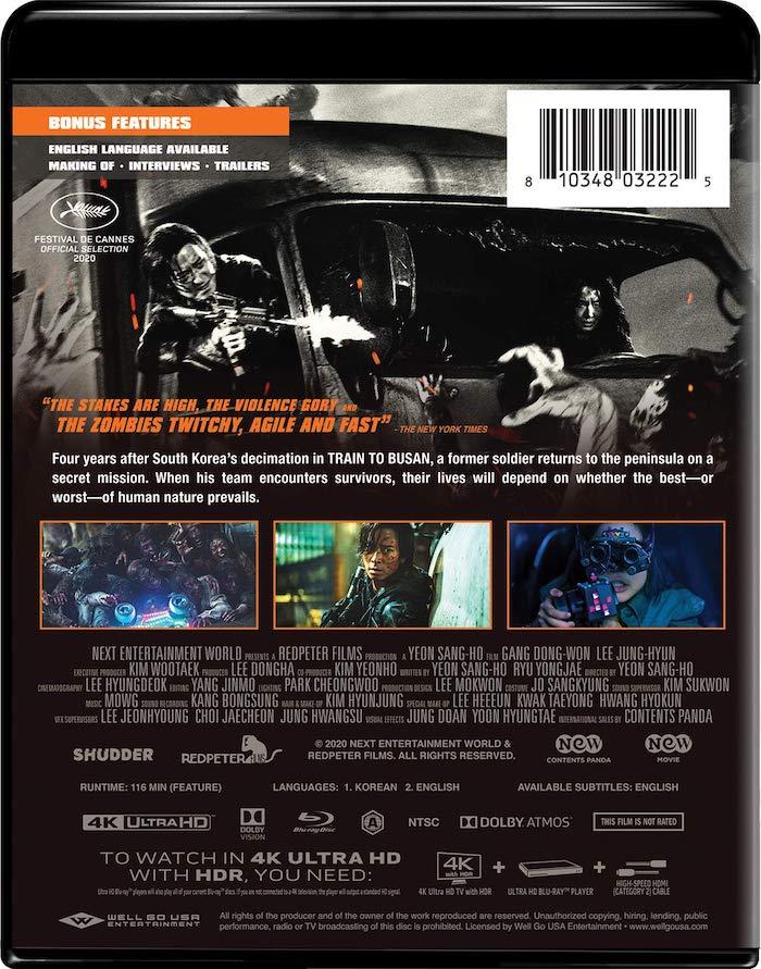 Peninsula 4K UHD Blu-ray