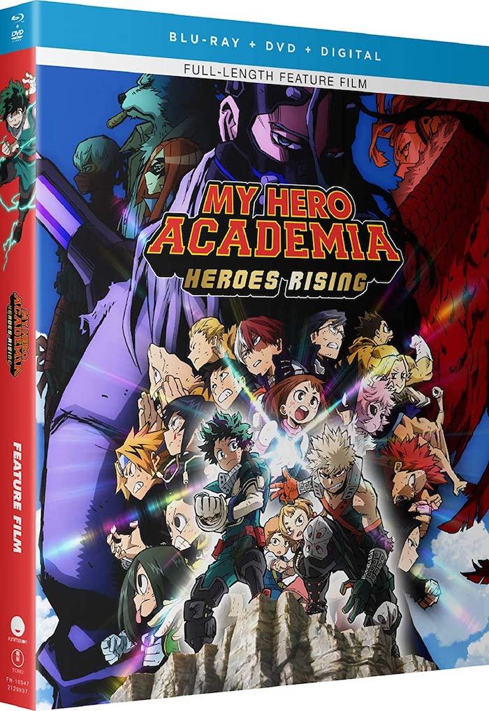 Hero Academia Blu-ray