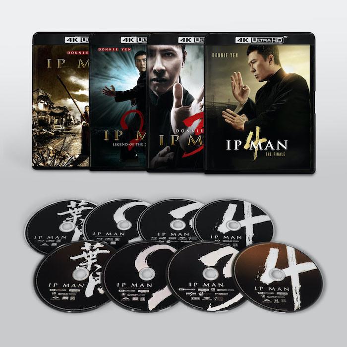 Ip Man 4K Collection