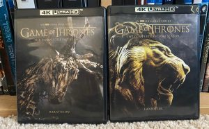 Game of Thrones Complete Collection 4K Review Seasons 1-2