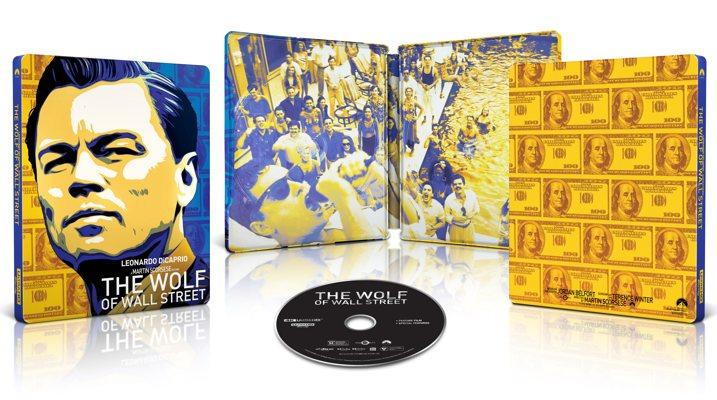Wolf of Wall Street 4K Steelbook